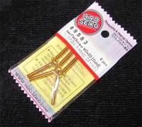 Hiro Seiko Steelscrew Gold M3 Countersunk-Head 3x20mm (6 pcs.)