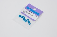 Square SGE-920TB Aluspacer 3x5.5 x 2.0mm Tamiya Blue