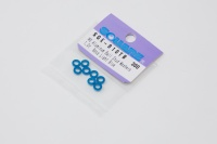 Square SGE-910TB Aluspacer 3x5.5 x 1.0mm Tamiya Blue