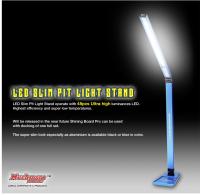 Muchmore MR-SLEDB Alu LED Tischleuchte Schlank 12V Tamiya Blau