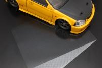 ABC Hobby 70251 Self-Adhesive Sheet (Silver Carbon)
