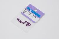 Square SGE-910P Aluspacer 3x5.5 x 1.0mm Purple