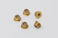 Square SGE-14FG Aluminum Wheelnuts Gold (5Pcs)