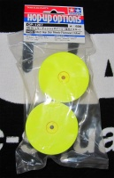 Tamiya 54287 Dish-Felgen Neongelb Hinten (4WD)