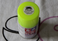 Tamiya Color PS-27 Fluorescent Yellow