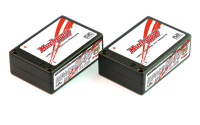 MuchMore MLI-IS6000FD Lipo Akku 6000mAh 7.4V 80C Saddle Pack