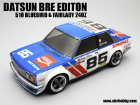 ABC-Hobby 1/10m Datsun 510 BRE Racing #85