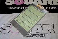 ABC Hobby 71072 1.0mm Lexanplatte mit Carbonaufdruck
