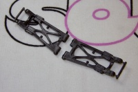 Tamiya 54142 TRF501/511/503 F-Parts Suspension Arms Rear Carbon (High Traction Type)