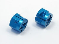 Square STD-212W Tamiya Wide Alu wheel hubs Tamiya blue