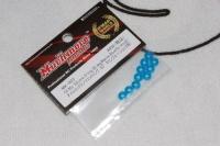 MuchMore MK-R03 Silicone O-Ring 50deg (Blue)