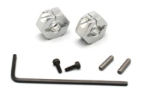 ABC-Hobby 24157 Alu Clamp-Type Hex Hubs (7mm)