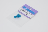 Square SGE-13UTB Aluminum M3 Nuts Light Blue (5 Pcs)
