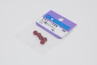 Square SGE-13UR Aluminum M3 Nuts Red (5 Pcs)