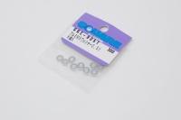 Square SGE-905S Aluspacer 3x5.5 x 0.5mm Silver