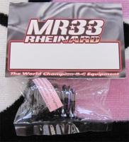 MR33 Rheinard Ride Schwarze Federn Purple 0.316kgf/mm