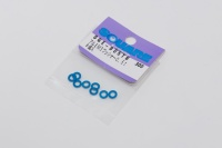 Square SGE-905TB Aluspacer 3x5.5 x 0.5mm Tamiya Blue