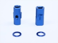 Square SGE-5010BY Alu Post Set M3x5.0 x 10.5mm Yokomo Blue