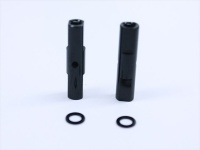 Square SGE-5021BK Alu Post Set M3x5.0 x 21.0mm Black