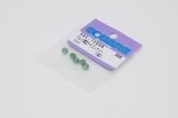 Square SGE-12UGR Aluminum M2 Nuts Green (5 Pcs) Low Height