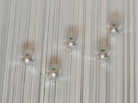 Square SGE-12S Aluminum M2 Nuts Silver (5 Pcs)