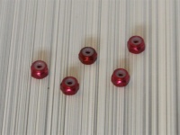 Square SGE-12R Aluminum M2 Nuts Red (5 Pcs)