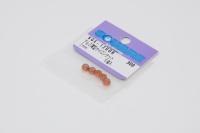 Square SGE-12UOR Aluminum M2 Nuts Orange (5 Pcs) Low Height