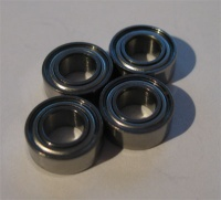 TRF419 Ball Bearings (5x10x4 = 1050) Metal Shielded 4pcs.