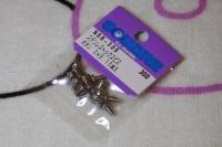 Square Steelscrew M3 Button-Head 3x5mm (15 pcs.)