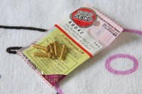 Hiro Seiko Aluscrew Gold Button-Head M3x12mm (5 pcs.)