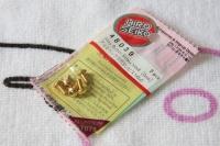 Hiro Seiko Aluschrauben Gold Linsenkopf ISO7380 M3x6mm (5 Stück)