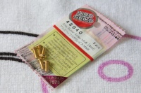 Hiro Seiko Aluschrauben Gold Linsenkopf ISO7380 M3x8mm (5 Stück)