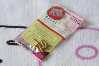 Hiro Seiko Aluschrauben Gold Linsenkopf ISO7380 M3x10mm (5 Stück)