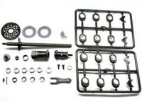 Square SDD-117 Formula 1 Inch Conversion Rear Axle Set (F103, TRF101, TRF102)