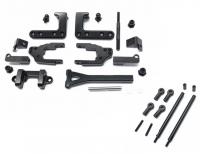 Square CCR-50M Alu Rear Link Kit M Black (CC-01)