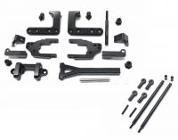 Square CCR-50L Alu Rear Link Kit L Black (CC-01)