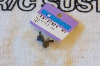 Square Flanged Aluscrew Black Button-Head M3x6mm