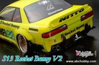 ABC-Hobby 1/10 Nissan Silvia S13 Rocket Bunny V2