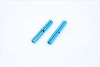 Square SGE-5030TB Alu Post Set M3x5.0 x 30mm Tamiya Blue