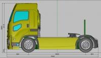 ABC-Hobby 1/10 Isuzu Giga Truck