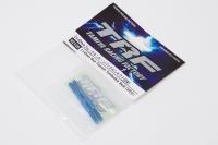 Tamiya 42120 3x42mm Titan Rechts-/Links Gewindestangen (2) Blau