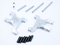 Square CCR-31FS Alu Front Suspension Arms (Arch Type) for CC-01 Silver