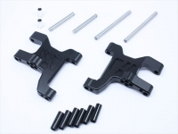 Square CCR-31FBK Alu Front Suspension Arms (Arch Type) for CC-01 Black