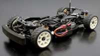 1/10 Mini ABC-Hobby Gambado Naked 2018 Chassis /w Nissan Leaf LW Body