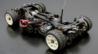 1/10 Mini ABC-Hobby Gambado Naked 2018 Chassis /w Nissan Leaf LW Body