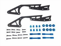 Square SWR-10B WR-02 Carbon Long Stretch Chassis Set (Tamiya Blue)
