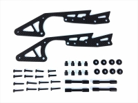 Square SWR-10BK WR-02 Carbon Long Stretch Chassis Set (Black)