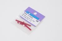 Square Aluscrew Pink Countersunk-Head M3x18mm