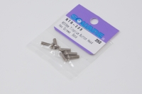 Square Titanscrew ISO7380 M3 Button-Head M3x9mm (6 pcs.)