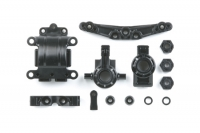 Tamiya 51318 TT-01E Front & Rear Knuckles / Gear Case (A-Parts)